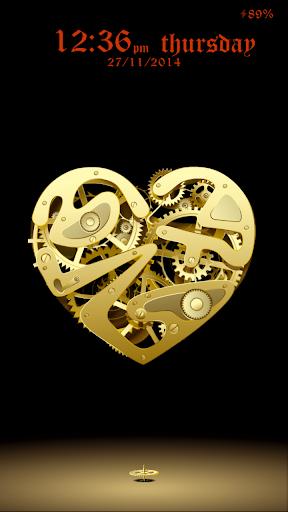 Forever heart Live Lock Theme