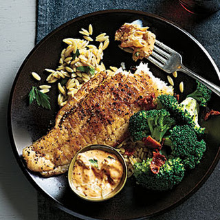 Sautéed Flounder and Spicy Rémoulade