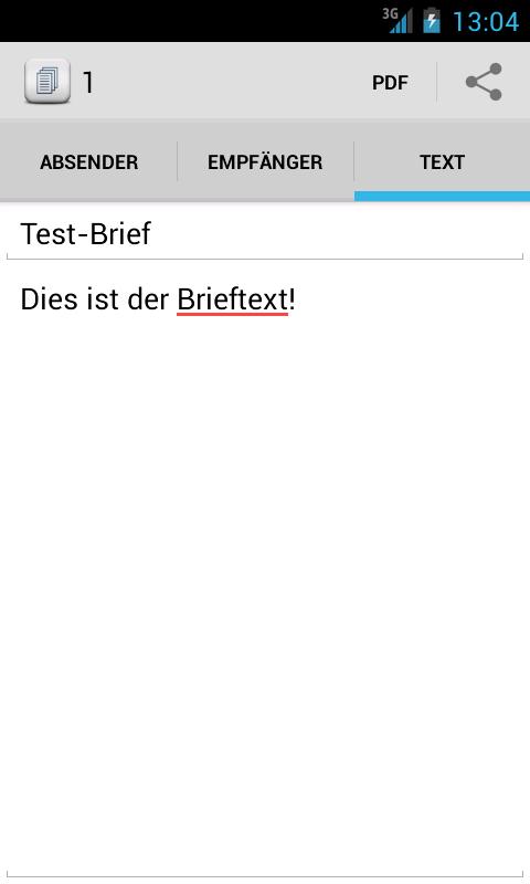 Brief Schreiben - Tex10 - Android Apps On Google Play