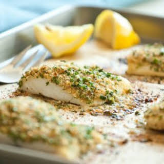 Baked Breaded Cod.