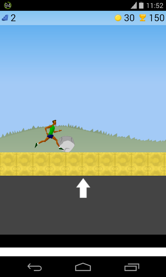 running game - screenshot