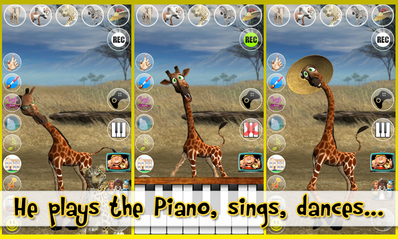 Talking George The Giraffe - screenshot