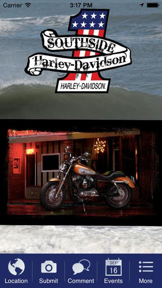 Southside Harley-Davidson- screenshot