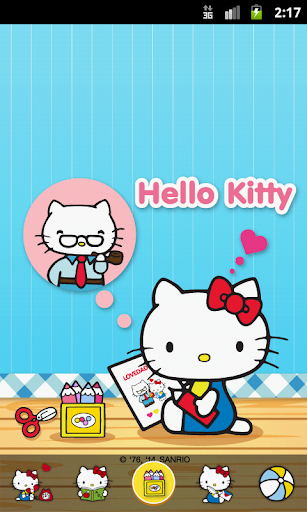 Hello Kitty Loves Daddy