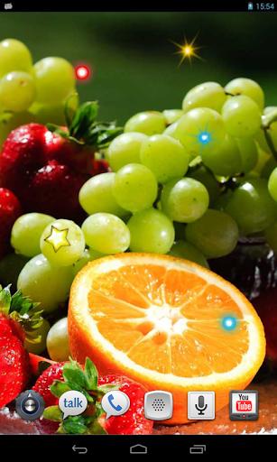 Exotic Fruits live wallpaper