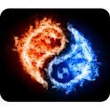 Burning Tai Chi Wallpaper logo