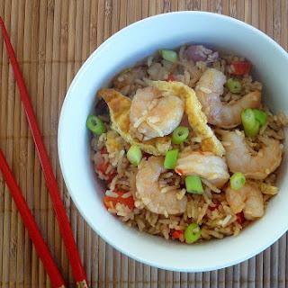 Spicy Prawn Fried Rice.