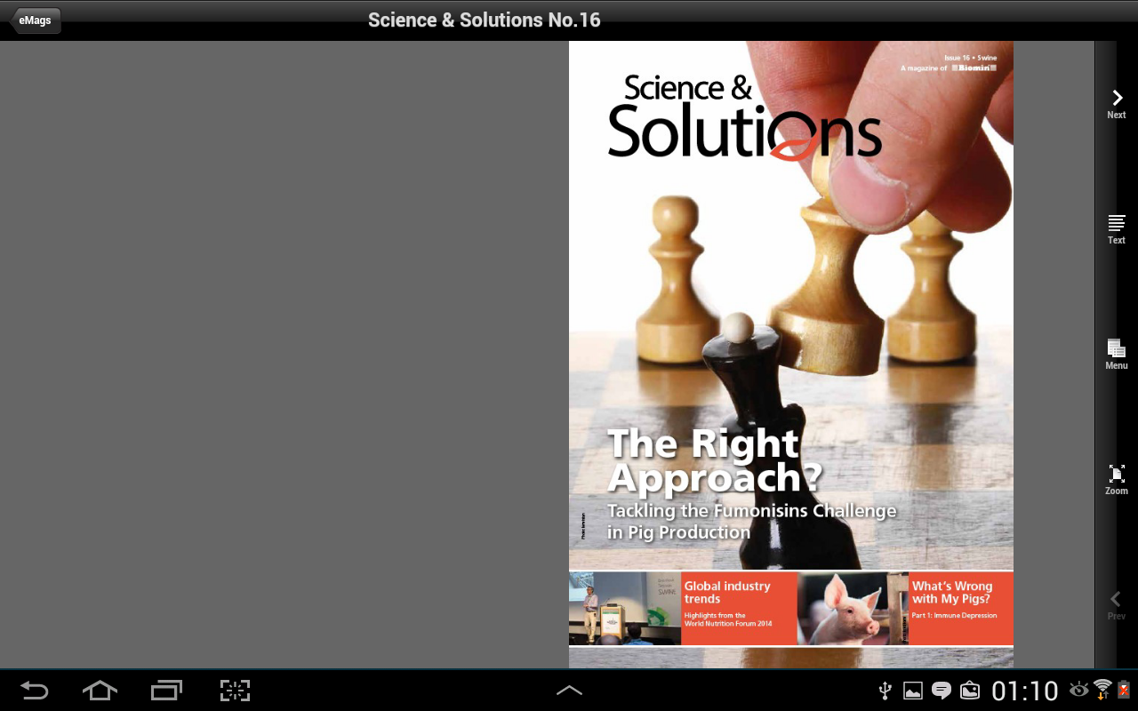 Science & Solutions- screenshot