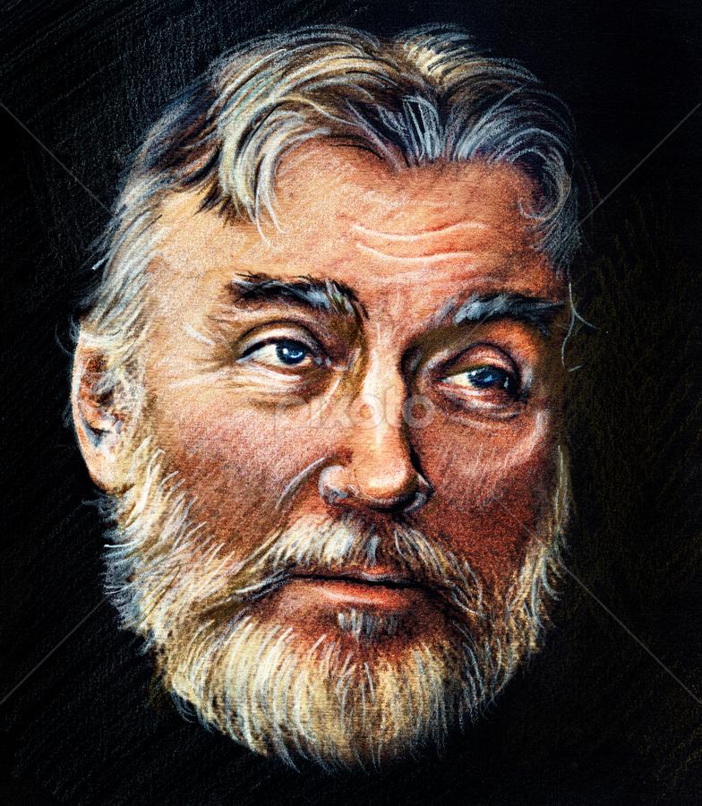 Adrian Păunescu Portrait - Drawing by Daliana Pacuraru - Drawing All Drawing ( daliana pacuraru, poet, adrian paunescu, romania, drawing, portrait )