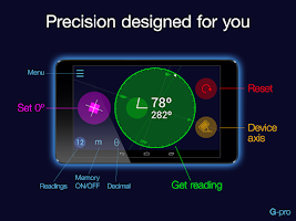 Screenshot of Goniometer Pro Preview