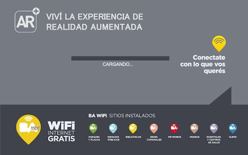 BA WiFi Realidad Aumentada