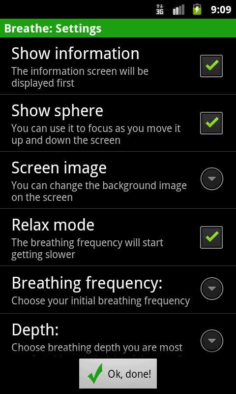 Breathe- screenshot
