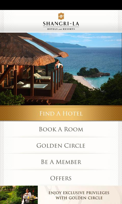 Shangri-La Hotels & Resorts - screenshot