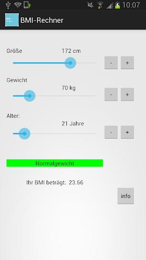 BMI - Rechner