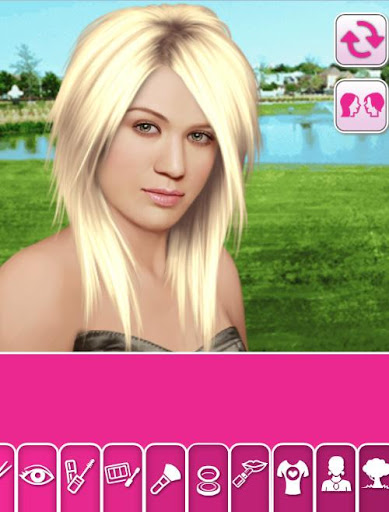 Kelly True Make Up Game