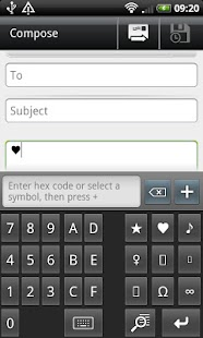 Unicode Keyboard - screenshot thumbnail
