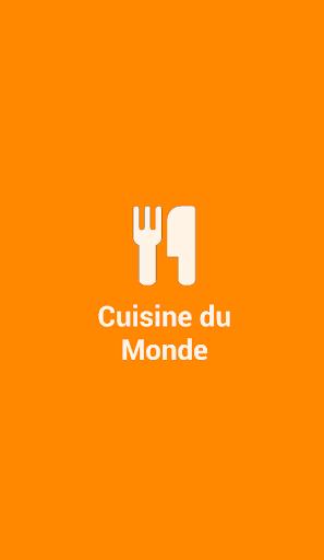 Recettes Cuisine du Monde