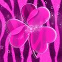 GO Launcher EX Theme Pink Zebr icon