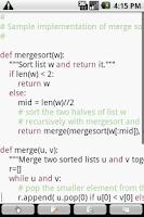 Screenshot of touchqode