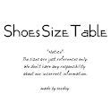 Shoes Size Table logo