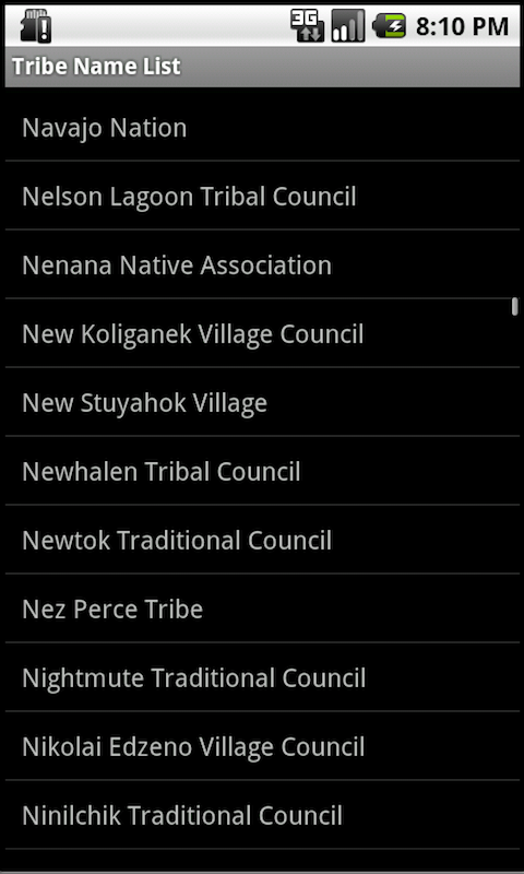 Tribal Nations Indian Tribes screenshot #3
