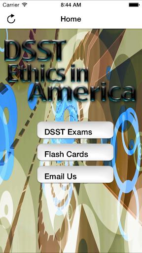 DSST Ethics America Buddy