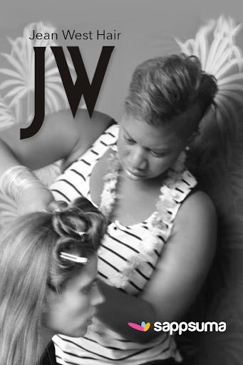 Jean West Hair