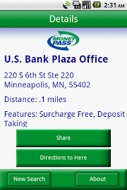 MoneyPass ATM Locator Screenshot 4