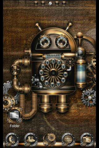 Apex GO Theme: Steampunk