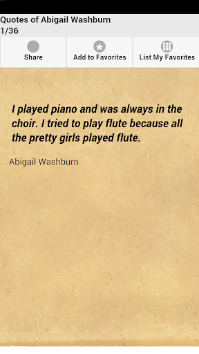 Quotes of Abigail Washburn