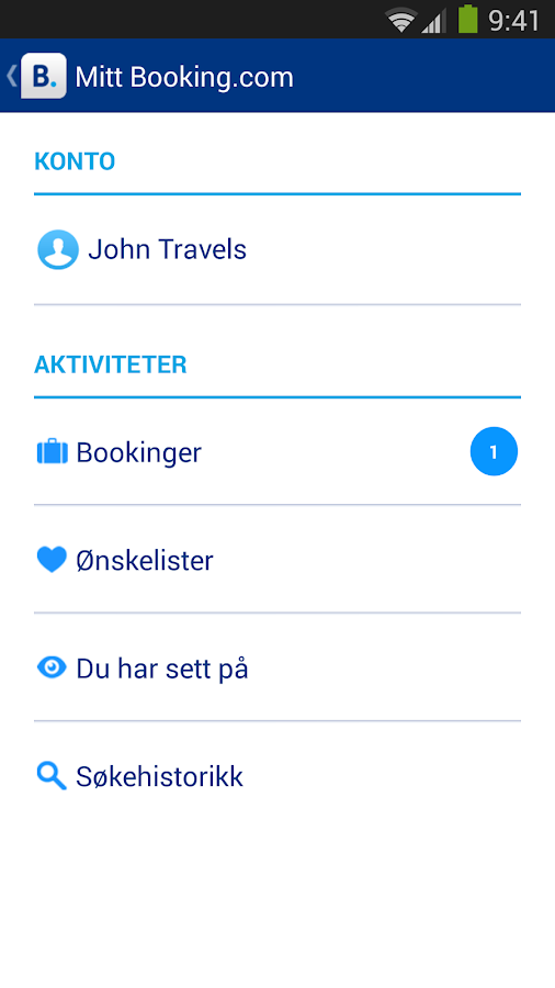 Booking.com–430 000+ hoteller - screenshot