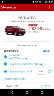 Hotwire Hotels & Car Rentals - screenshot thumbnail