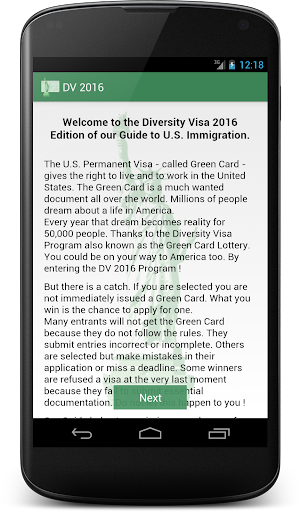 Green Card Lottery Guide 2016