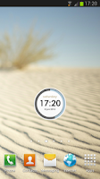 Screenshot of RoundClock