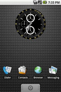 Tachymetre Clock Widget 2x2 - screenshot thumbnail