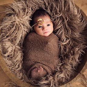 Baby Girl by Claire Conybeare - Chinchilla Photography - Babies & Children Babies