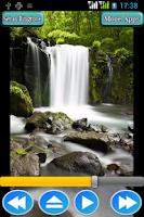 Screenshot of Waterfall Sounds and Ringtones