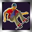 Skateboarding 3D Skateboard