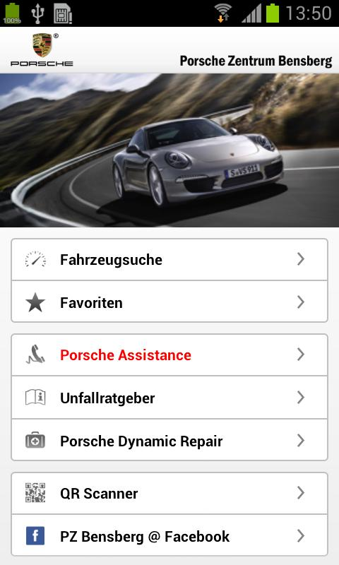 porsche zentrum bensberg android apps on google play. Black Bedroom Furniture Sets. Home Design Ideas