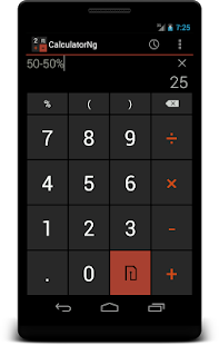 CalculatorNg - Calculator - screenshot thumbnail