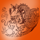 Smoke Dragon Live Wallpaper icon