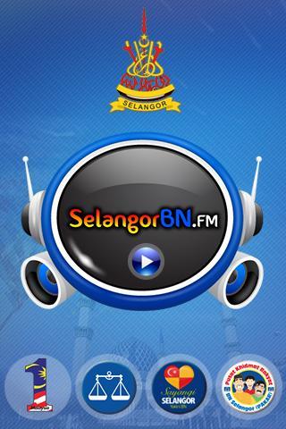 Selangor BN FM - screenshot