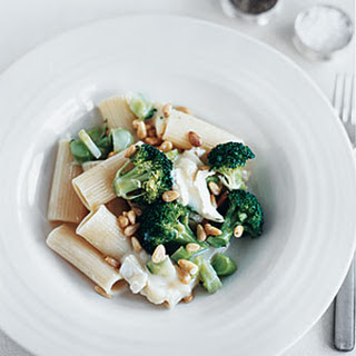 Creamy Rigatoni with Broccoli and Brie.
