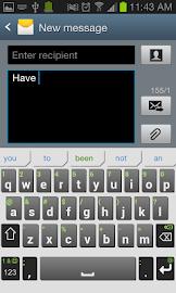 iKnowU Keyboard REACH FREE Screenshot 1