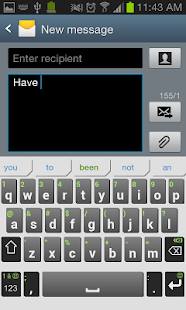 iKnowU Keyboard REACH FREE Screenshot 1