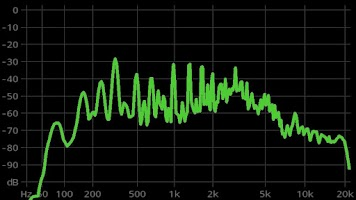 Screenshot of FrequenSee HD - Audio Analyzer