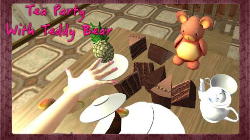 Tea Party With Teddy Bear