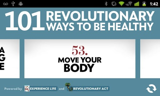 101 Ways to Be Healthy- screenshot thumbnail