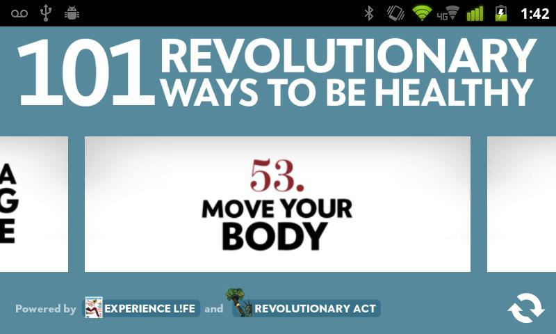 101 Ways to Be Healthy- screenshot
