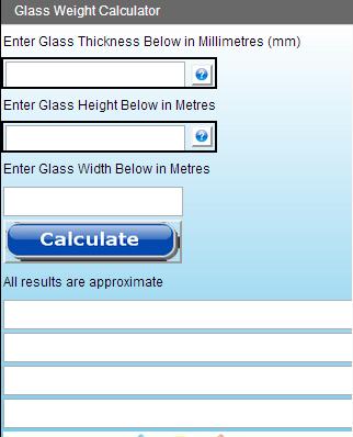 Glass Weigh